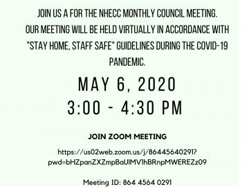 May 2020 Meeting