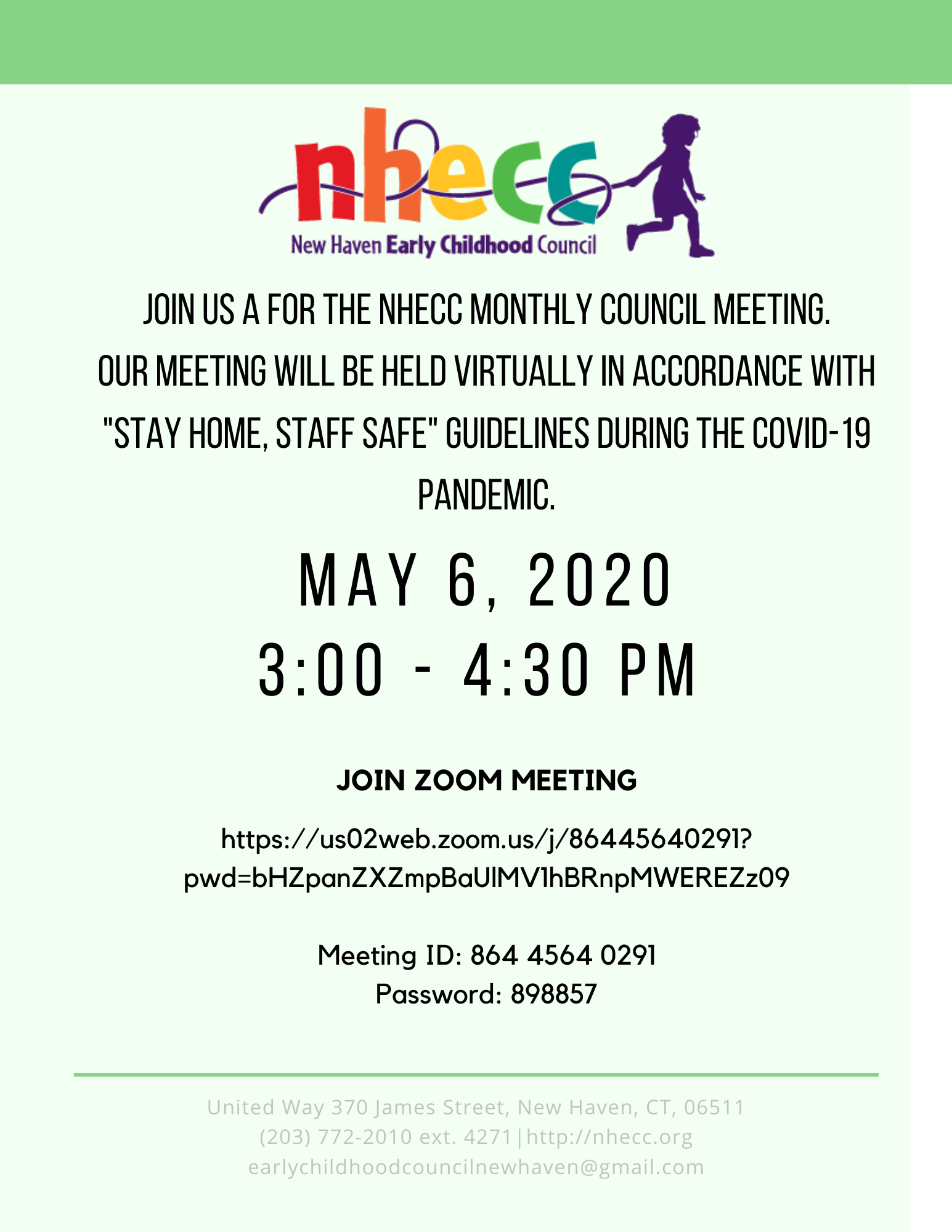 May 2020 Meeting